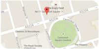 Wimpole Street Map